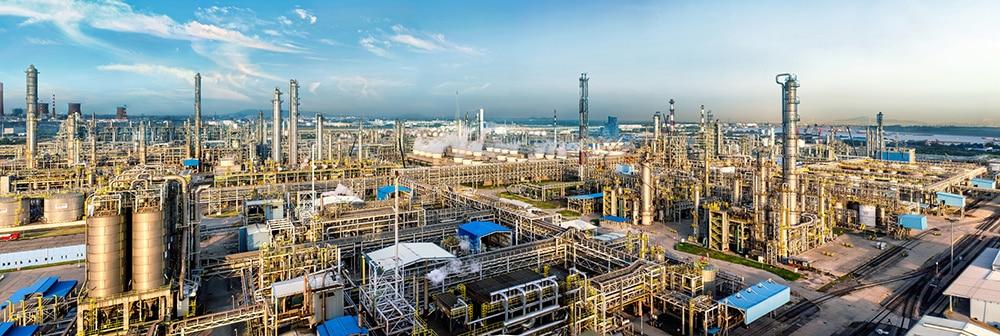 Der BASF-YPC Verbundstandort von BASF und SINOPEC  in Nanjing (China)   Foto: BASF-YPC