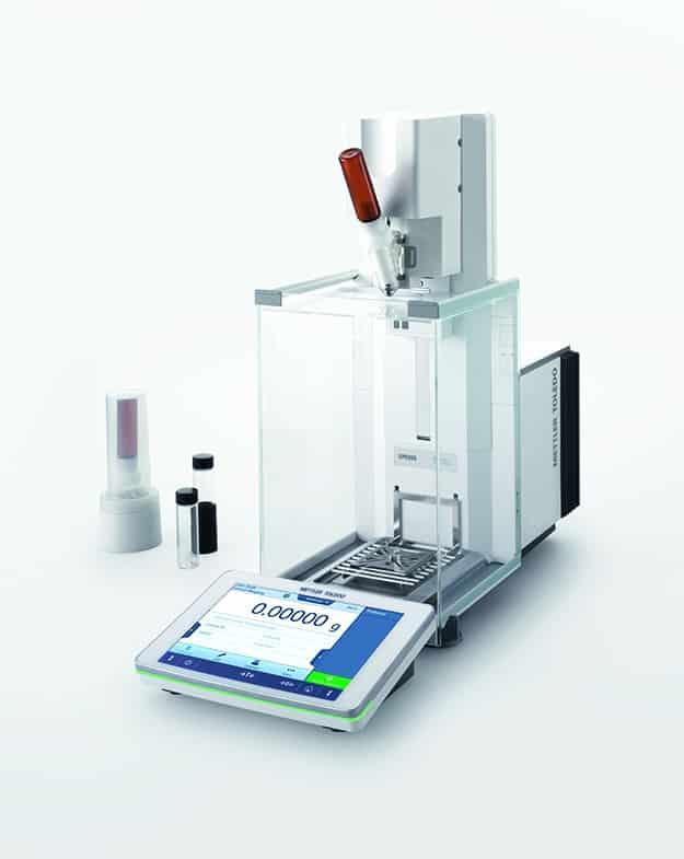 Die neue automatische XPR-Waage bietet Genauigkeit, Sicherheit und Geschwindigkeit in den kritischen Laborabläufen von heute. | Foto: METTLER TOLEDO